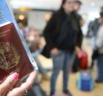 Ecuador comenzó a exigir pasaporte a los venezolanos desde agosto de 2018. Foto: AFP