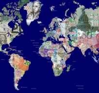 Los multimillonarios tampoco están repartidos equitativamente por el mundo. GETTY IMAGES