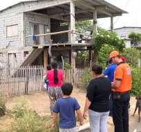 SANTA ELENA, Ecuador.- San Pedro, San Pablo, Palmar y Valdivia son cuatro de las localidades más afectadas. Foto: Captura.