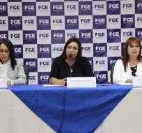 Palacios deja 13 investigaciones en contra del expresidente Rafael Correa. Foto: Fiscalía