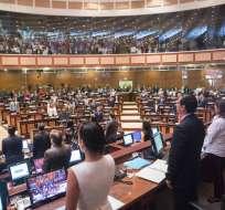 Asamblea seguirá el jueves revisando posibilidad de quitar designación de autoridades. Foto: Twitter Asamblea