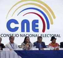 En próximos días el Consejo Electoral revisará actas de escrutinio de provincias restantes. Foto: API