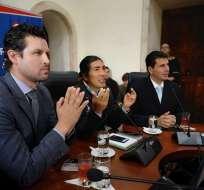 Autoridades electas de Azuay hacen pedidos al Gobierno de Moreno. Foto: Gobernación Azuay
