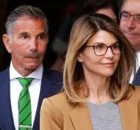 La actriz realizó una breve declaración en un tribunal de Boston, Estados Unidos. Foto: AP