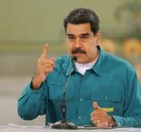 VENEZUELA.- Maduro reiteró que la falta de agua es producto de ataques de EEUU y la oposición. Foto: AFP