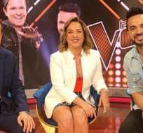 Luis Fonsi y Adamari López se reencontraron en programa de TV.