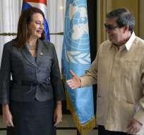 """La presidenta de la Asamblea General de la ONU alabó la """"voz poderosa"""" de Cuba """"contra los abusos del más fuerte"""". Foto: AFP"""