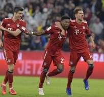 Los de Munich vencieron 5-0 a los 'Black and Yellow' en el Allianz Arena. Foto: TOBIAS SCHWARZ / AFP
