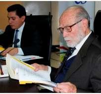 """Para Trujillo, los resultados de las últimas votaciones demuestran la """"alta ilegitimidad"""" del Consejo. Foto: CPCCS"""