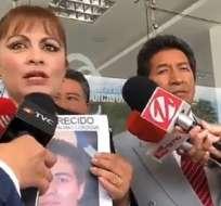 QUITO, Ecuador.- Para la madre de Romo, diligencia no debía realizarse tras las amenazas que recibió la jueza. Foto: Twitter