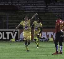 Los ´cetáceos' superaron 3-2 a los azuayos en el Alejandro Serrano Aguilar. Foto: API