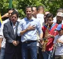 """CARACAS, Venezuela.- Guaidó prevé organizar un voluntariado para """"mantener viva la presión en las calles"""". Foto: AFP"""