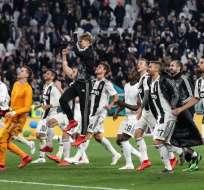 La 'Vecchia Signora' venció 2-1 a los 'rossoneros' en el Juventus Stadium. Foto: Isabella BONOTTO / AFP