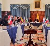 Es uno de los pedidos de la reunión internacional sobre la migración venezolana. Foto: Twitter