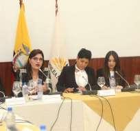 QUITO, Ecuador.- La comisión de Fiscalización recibió a directores del SRI y de la UAFE por caso INA Papers. Foto: Asamblea