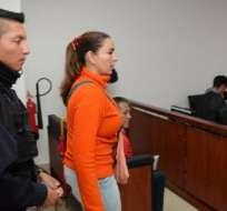 ECUADOR.- La excoordinadora del IESS, de Ramiro González, cumple sentencia por enriquecimiento ilícito. Foto: Archivo