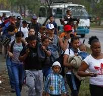 Guatemala preparada por avance de nueva caravana de migrantes. AP