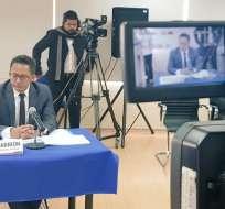 Cpccs transitorio rechazó las impugnaciones contra el postulante. Foto: Twitter