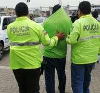 El sujeto no tiene antecedentes penales. Foto: mpnoticias.com.ec