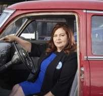 """María Ureña es la dueña y directora ejecutiva de """"King Automotive Services"""", California."""