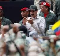 Maduro anuncia que quiere ampliar las Maduro también pidió a la milicia que se dedique a la producción de alimentos.
