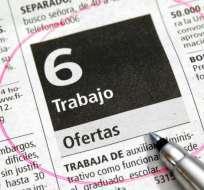 ECUADOR.- En un año, la cifra de desempleo ha crecido 0.2%, de marzo de 2018 a marzo de 2019, según el Inec. Foto: Archivo