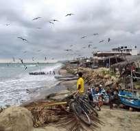 Pescadores de Manabí esperan obras prometidas. Foto: Referencial