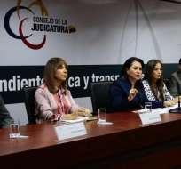 QUITO, Ecuador.- La presidenta del organismo anunció que se realizará una evaluación a los fiscales. Foto: @CJudicaturaEc