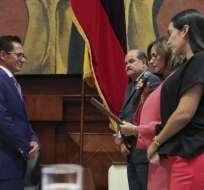 El nuevo funcionario permanecerá en el cargo por 5 años. Foto: Asamblea Nacional