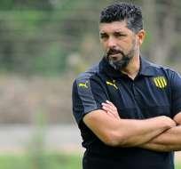 Ramos reemplaza al extécnico 'amarillo' Guillermo Almada. Foto: Prensa Peñarol