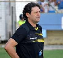 Raúl Duarte, entrenador de Fuerza Amarilla.
