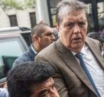 Expresidente de Perú se disparó durante operativo por caso Odebrecht. Foto: AFP