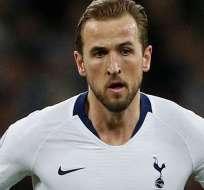 Harry Kane, capitán del Tottenham Hotspur.