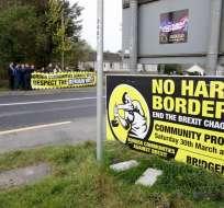 """Londonderry es tristemente célebre por el """"Bloody Sunday"""", un ataque que dejó 14 muertos. Foto: AFP."""