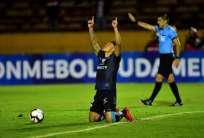 Los 'negriazules' ya habían recibido 300 mil por participar en la Copa Sudamericana. Foto: RODRIGO BUENDIA / AFP