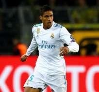 Raphael Varane, defensa del Real Madrid.