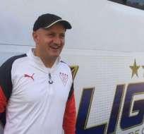 Pablo Repetto, entrenador de LDUQ.