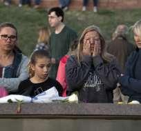 20 años de la masacre de Columbine en EEUU. Foto: AFP