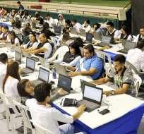 GUAYAS, Ecuador.- Indagación pretende identificar a supuestos responsables de manipulación de resultados. Foto: Referencial/CNE.