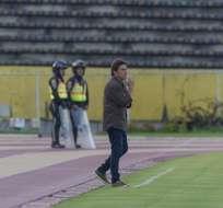 Julio César Toresani en su paso por Ecuador.