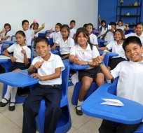Más de 2 millones de estudiantes inician clases en la Costa. Foto: Archivo