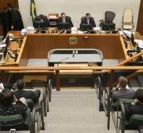Fallo del Tribunal de Justicia abre la posibilidad de régimen semiabierto de prisión. Foto: AFP