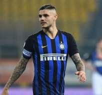 Mauro Icardi, goleador del Inter de Milán.