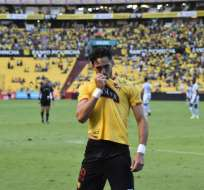 Leonardo Campana, delantero de BSC.