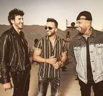 Los tres artistas se presentarán este jueves 25 de abril en los premios Billboard a la música latina. Foto: internet