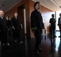 La Jurisdicción Especial para la Paz dispuso detener a Hernán Velásquez Saldarriaga. Foto: AFP