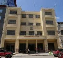 MANABÍ, Ecuador.- La Comisión Anticorrupción señaló al Consejo entre las entidades que perjudican al Estado. Foto: Cortesía