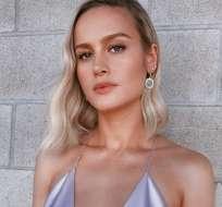 Brie Larson reveló un gran secreto de Capitana Marvel. Foto: IG
