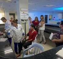 Universidad de Guayaquil ha enviado pedidos a la ministra de Salud por la administración. Foto: @HUniversitarioG