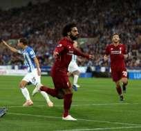 Mohamed Salah, autor de un doblete.